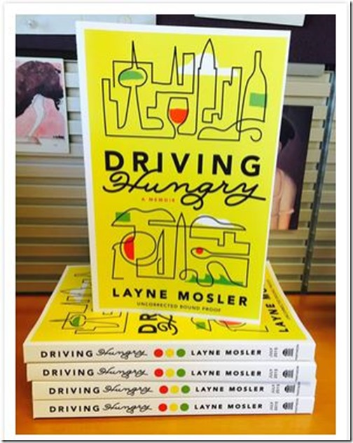 Driving Hungry Layne Mosler Stack of Books