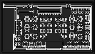 Схема зала - ресторана