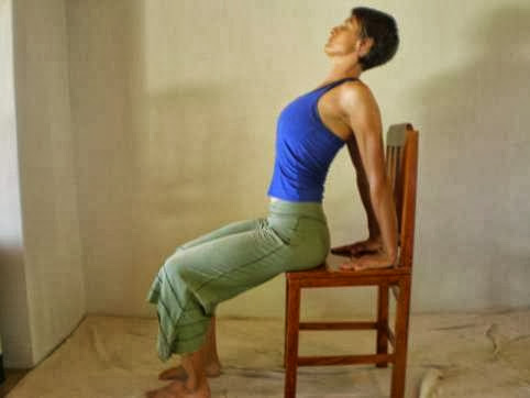 Office Yoga Moves For A Better Posture - The Back Bend