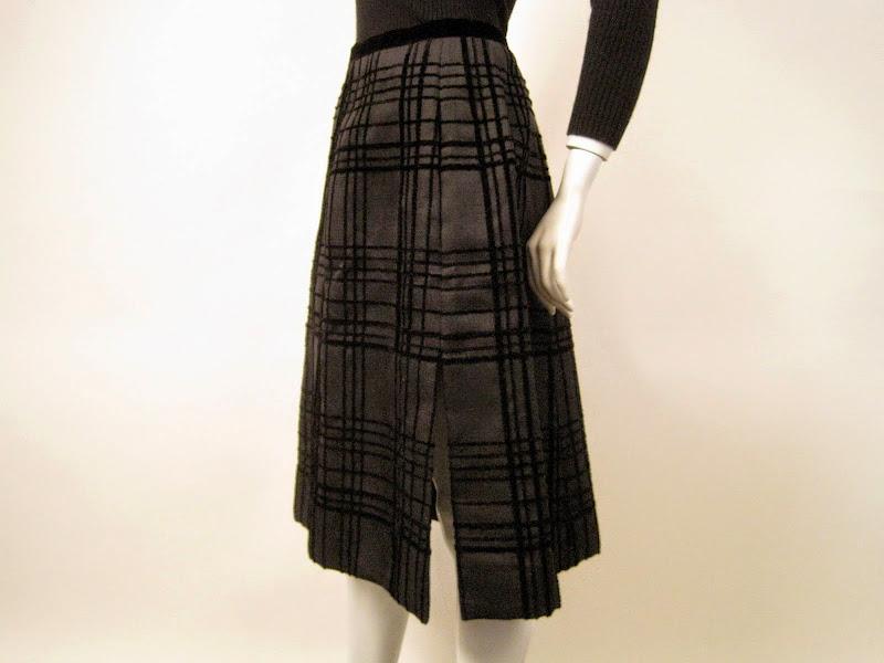 Givenchy Kick Pleat Skirt