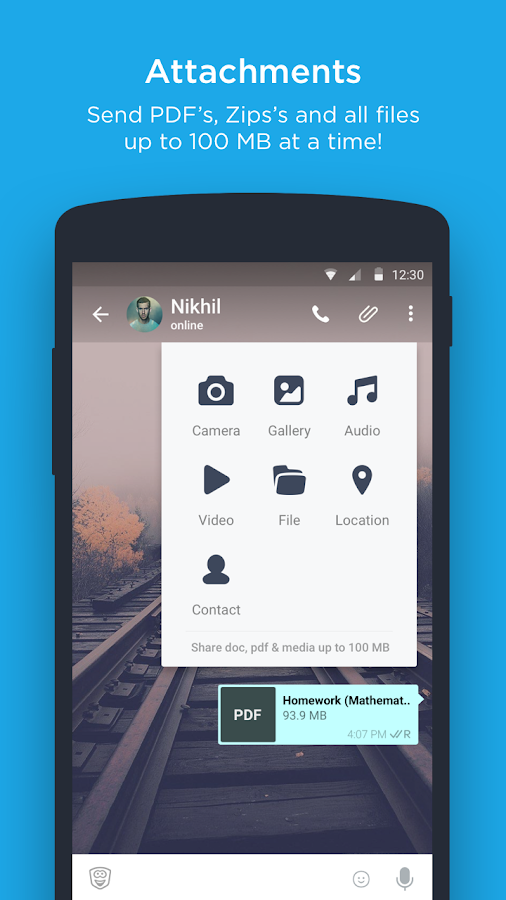 hike messenger Screenshot 4
