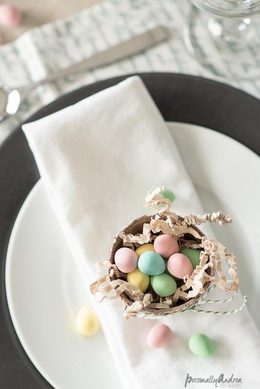 Mini Eggs in Mini Peat Pots - Personally Andrea