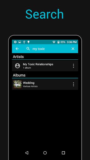 Rocket Music Player screenshot 1
