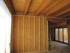 April 23 - Begin furring strips, great room/entryway