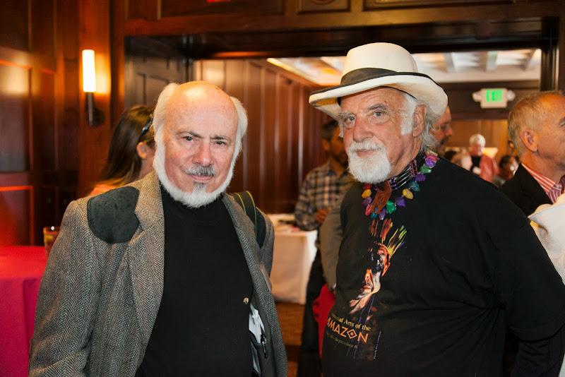 Stephen Somerstein and friend. September 25, 2013; San Francisco, CA, USA; Photo by Eric Slomanson / slomophotos.com