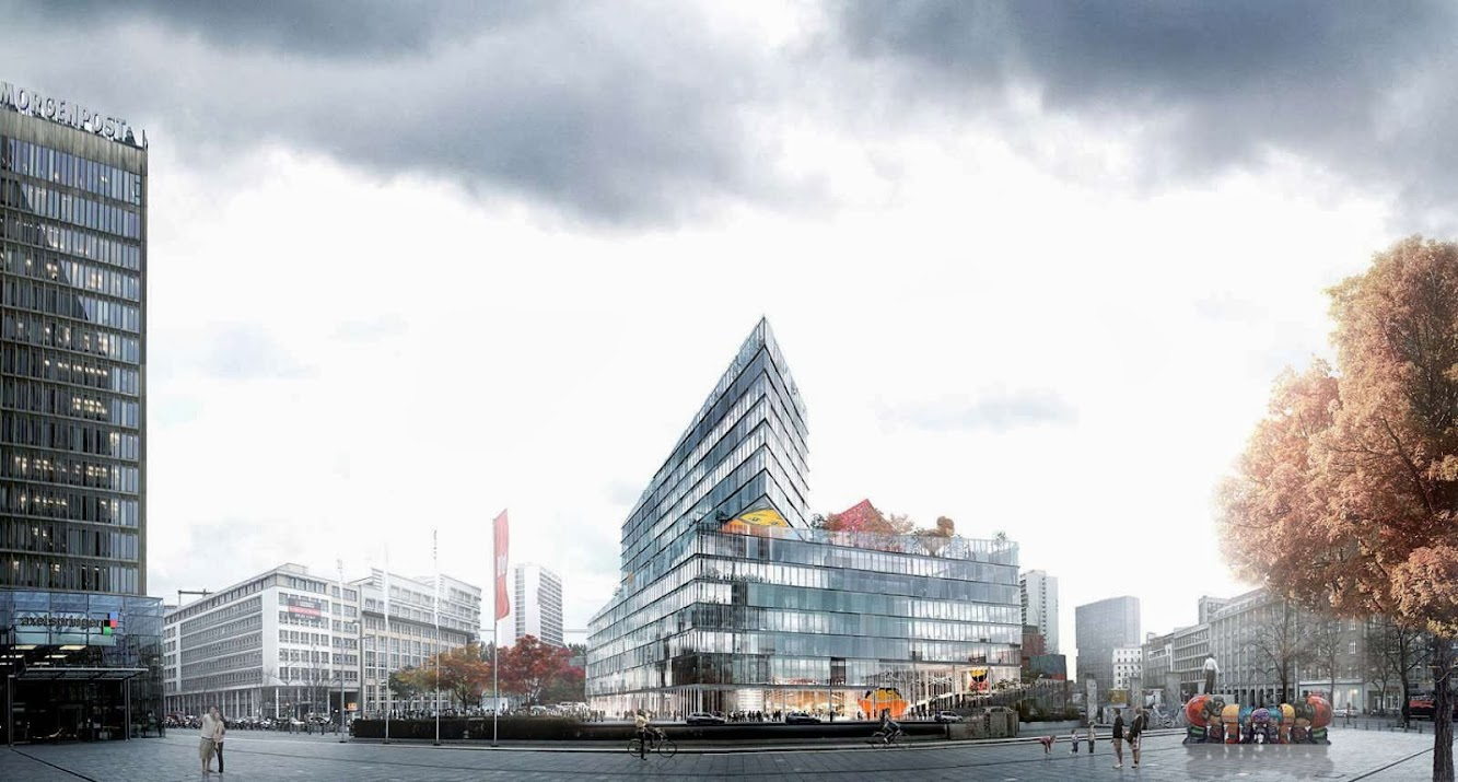 Berlino, Germania: Big Among the Winners of the New Media Campus For Axel Springer
