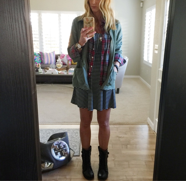 parlor girl fall style plaid and stripes