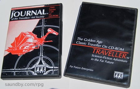 Traveller CD and Journal of the Travellers' Aid Society CD