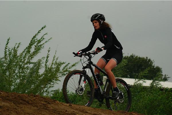 Mountainbiken tijdens Roeselare Fietst