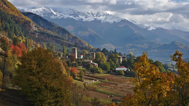 Armata de turnuri din Svanetti.