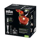 Braun MQ735 Multiquick 7 Sauce, mixer ad immersione da 750 W e 0,5 l