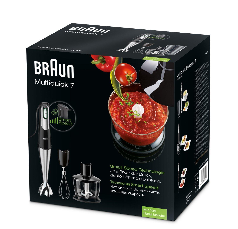 Braun mq735 multiquick 7 sauce mixer ad immersione da 750 - Mixer da cucina ad immersione ...