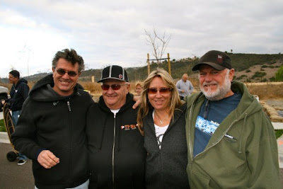 Denis Schufeldt, Dave McIntyre, Laura Thornhill & Dave Dominy at the La Costa reunion in 2009