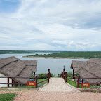 Mweya Safari Lodge, Luxury Tents mit Blick auf den Kazinga Kanal © Foto: Marco Penzel   Outback Africa