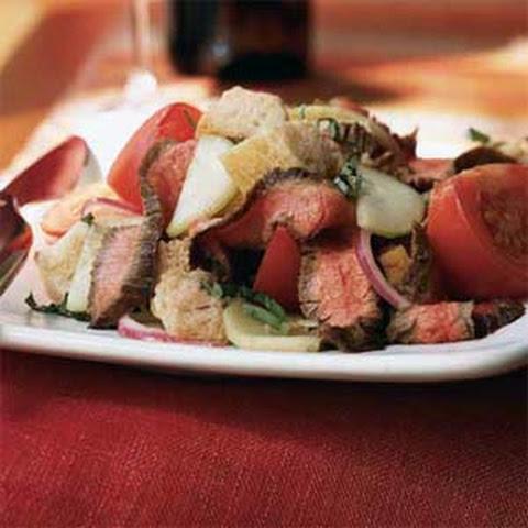 Grilled Flank Steak With Portobello Mushrooms
