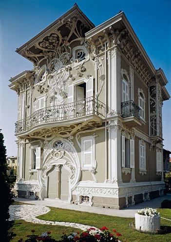 Villa Ruggeri by Giuseppe Brega in Pesaro Italy - Copy