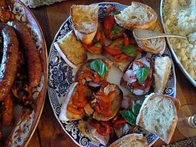 Serve as a Bruschetta Topping- With and Without Pork Tenderloin