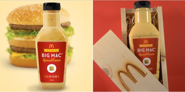 McDonald's Big Mac Sauce Bottle
