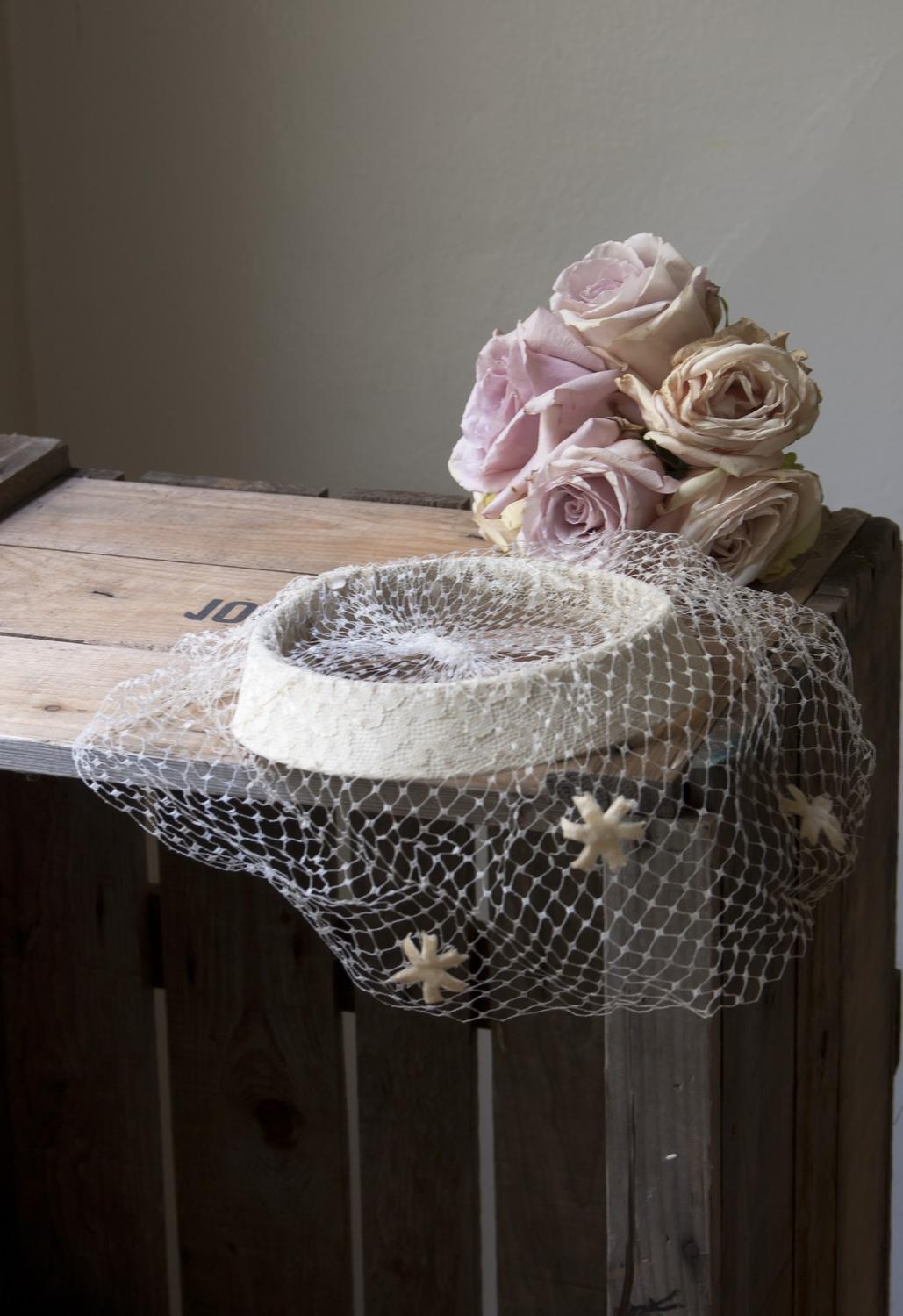 farmhouse weddings. vintage wedding veil. From cottagefarm