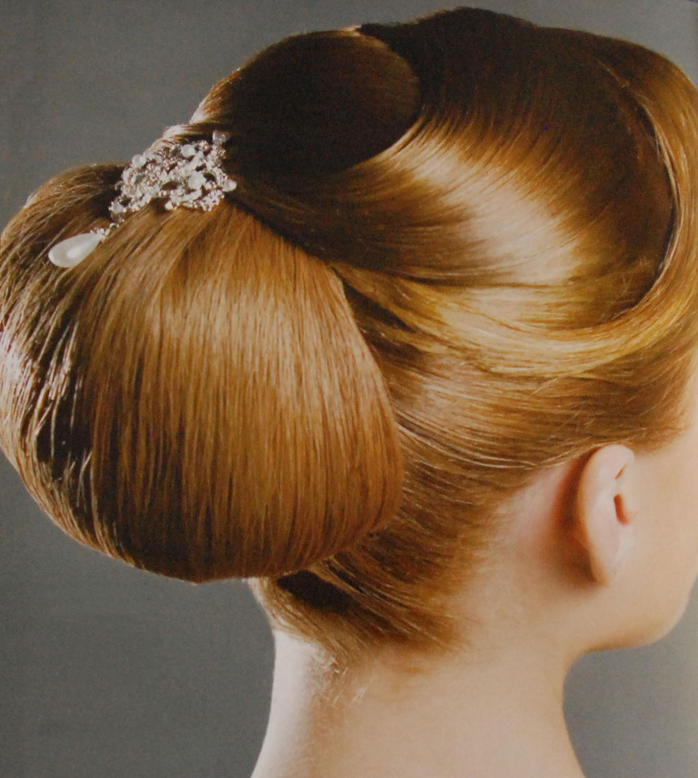 Wedding Hairstyle upsweep 2