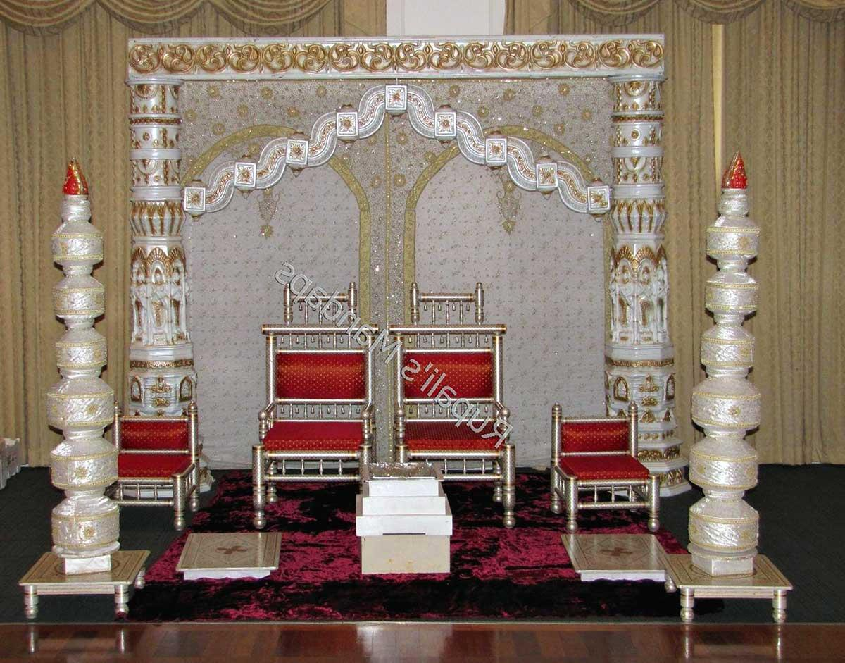 Unique Mandap Setup for
