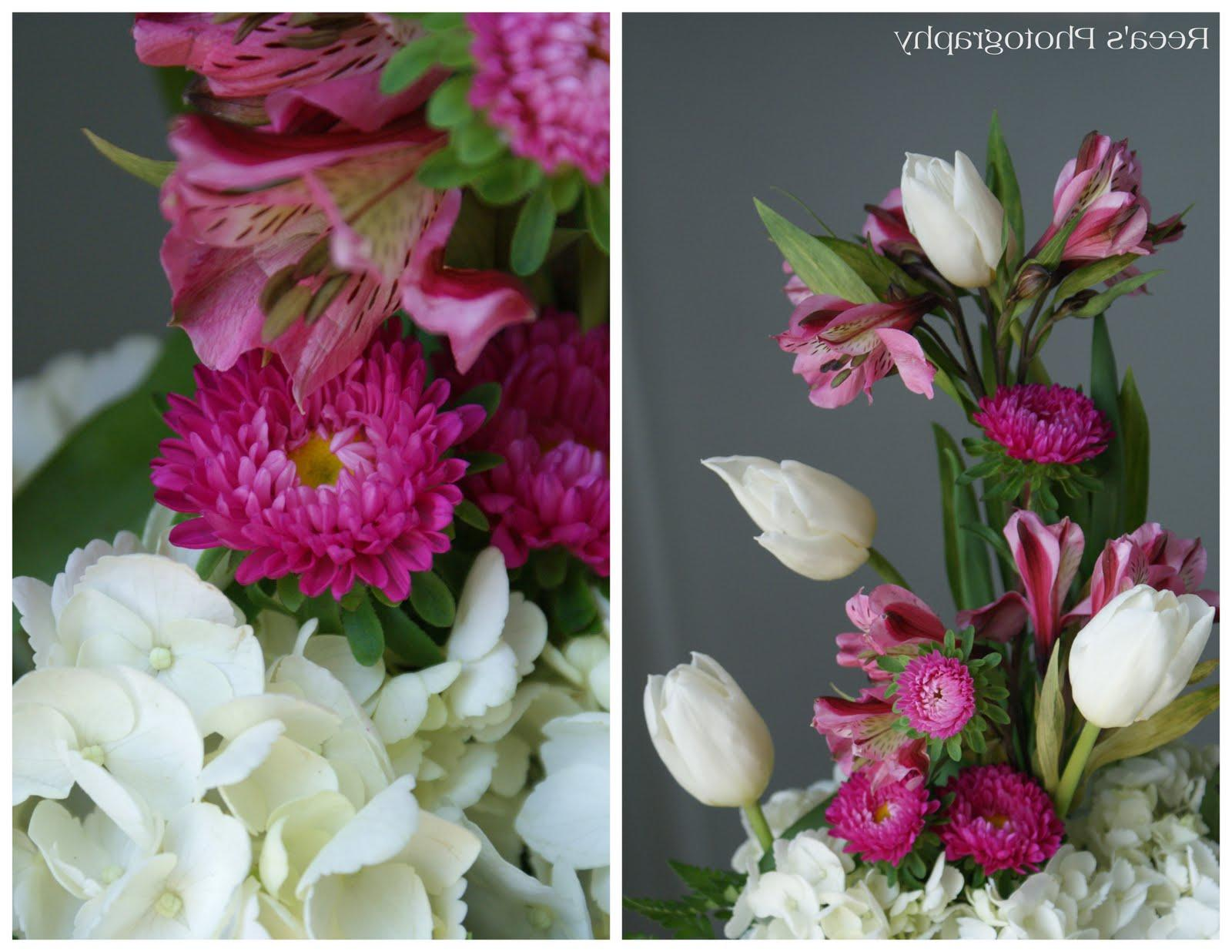 tulip wedding centerpieces
