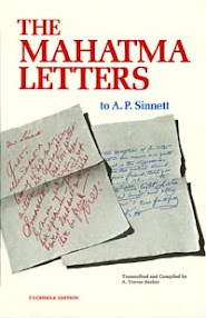 Cover of Koot Hoomi Lal Singh's Book The Mahatma Letters To AP Sinnett From 1 to 25