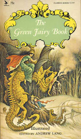 Cover of Andrew Lang's Book The Green Fairy Book