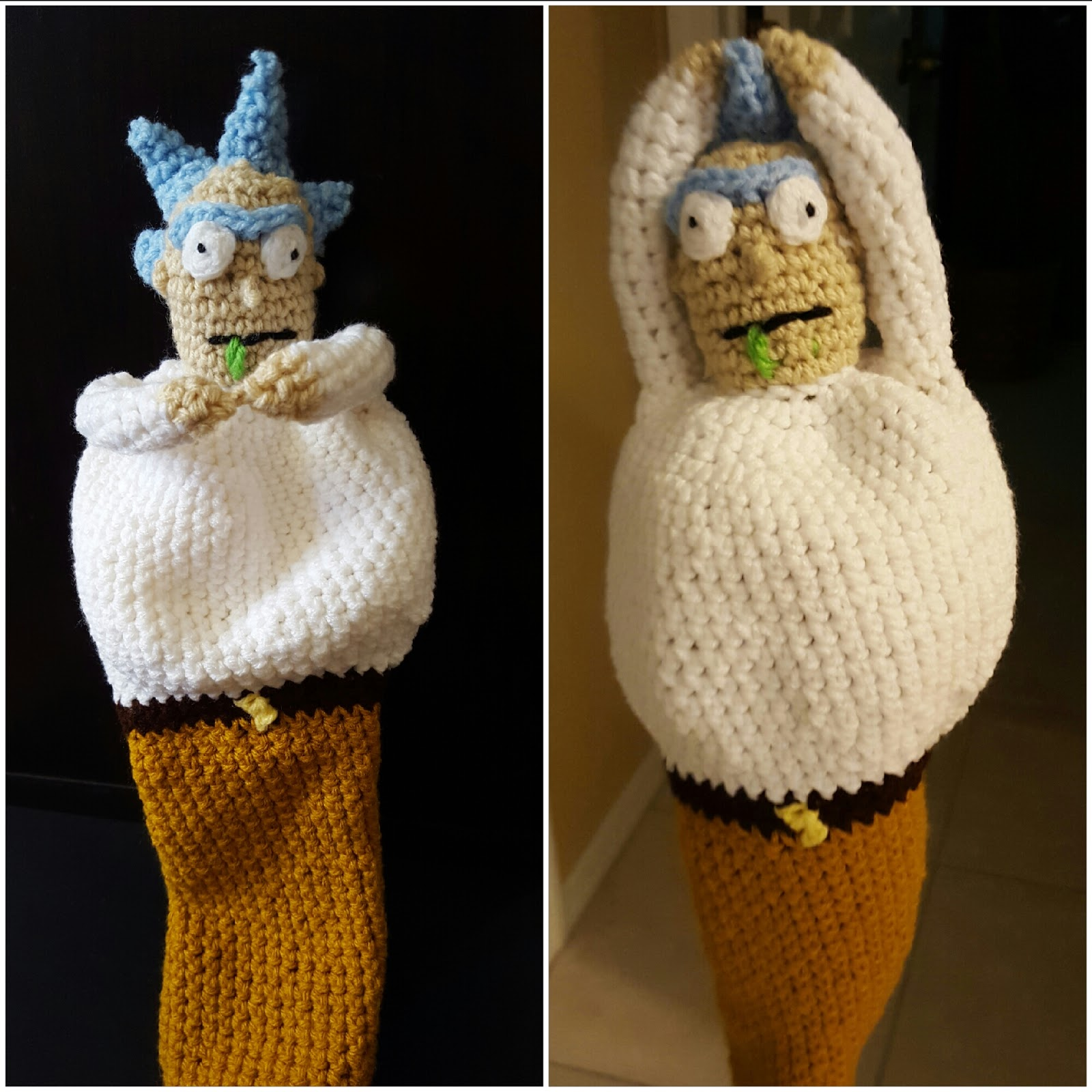House Deco And Crafting Rick Meeseeks Golf Club Covers