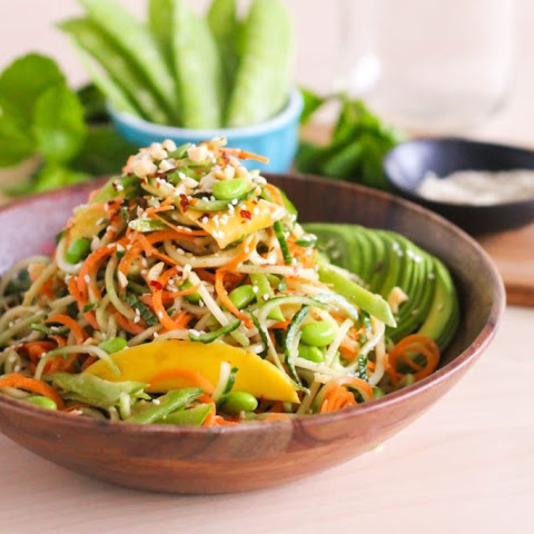 Spiralized Sesame Noodle Salad