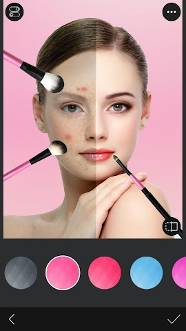 android You Makeup - Makeover Editor Screenshot 2