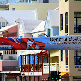 Downtown Hamilton on Election Day - West End, Bermuda