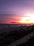 Sunset over the Gulf of Mexico in Destin FL 03232012d