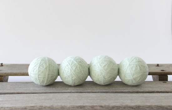 Aqua Organic Wool Dryer Balls - Simple is Pretty Shop