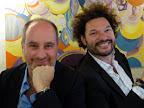 Junto con José Luis Anzizar (Artista y compañero de la vida hace 25 años y con quien lleva un año de casados)