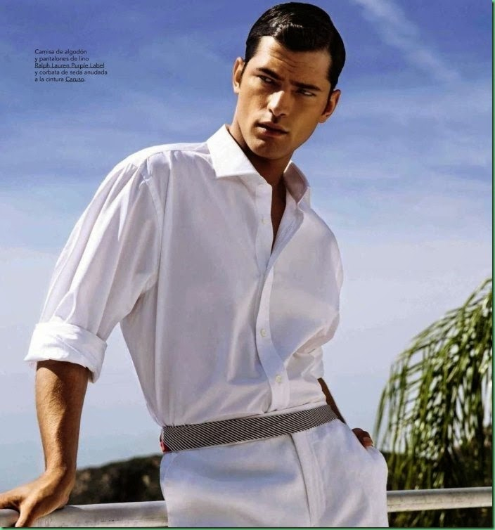 Editorial: Sean O'Pry for GQ Spain May 2015