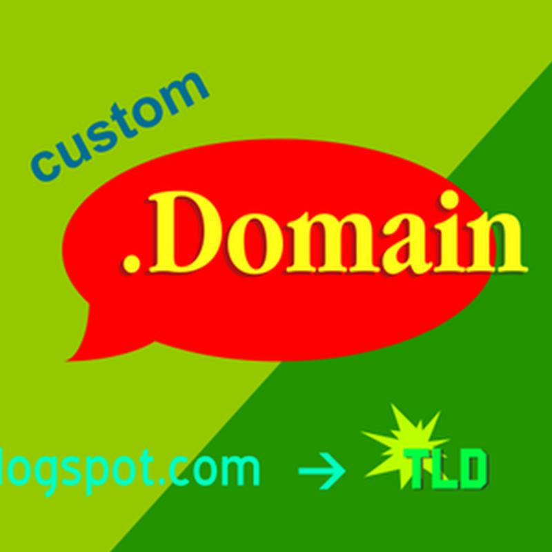 Cara custom domain blogspot dengan domain sendiri