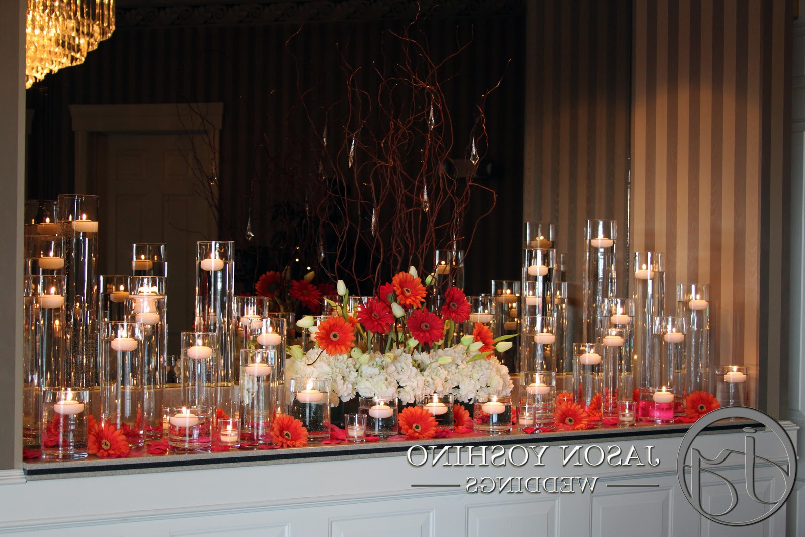 Wedding Candle Centerpiece