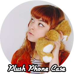 DIY phone case plush
