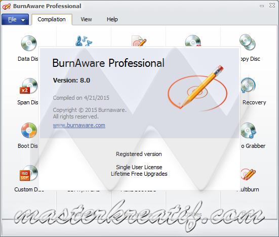 BurnAware Professional 8.0