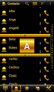 Theme Chess Gold RocketDial - screenshot
