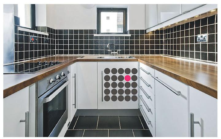Küchen Design mit Wandstickern