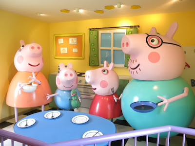 Inside Peppa Pig's house