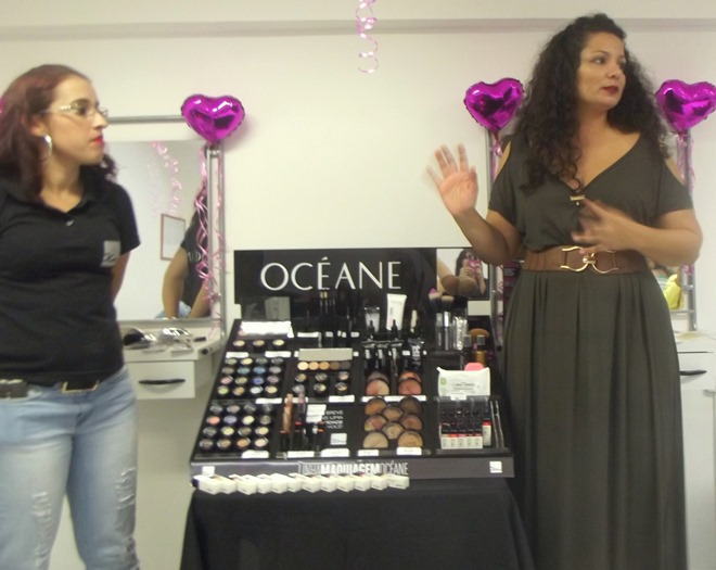 Oceane_femme_maquiagem_Pink_perfumaria_bonsucesso_rio de janeiro_Encontro_blogueiras_workshop_cabelo