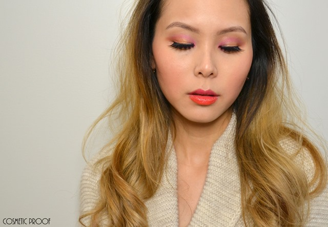 Shu Uemura Haute Street Warm x Vibrant Eye Shadow Palette Review Swatches (8)