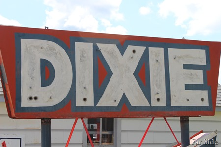 Dixie Sign