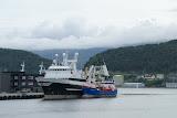 De haven van Alesund.