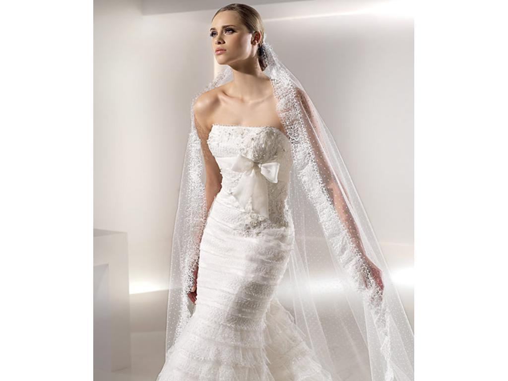Lace Back Wedding Dresses 2012