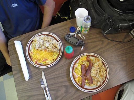 ...deserves breakfast. So back to Whipple's.