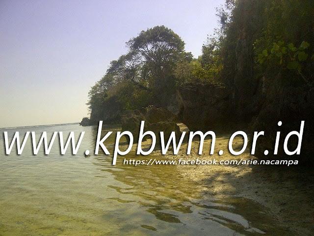 pantai wisata labuang campalagian